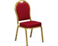 Guldstol - Rød banquet